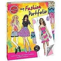 Klutz My Fashion Portfolio Craft Kit