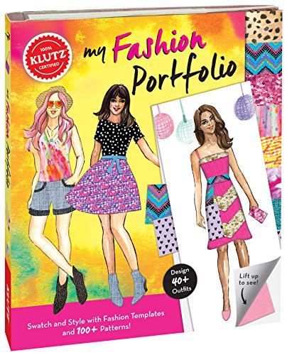 Klutz My Fashion Portfolio Craft Kit ()