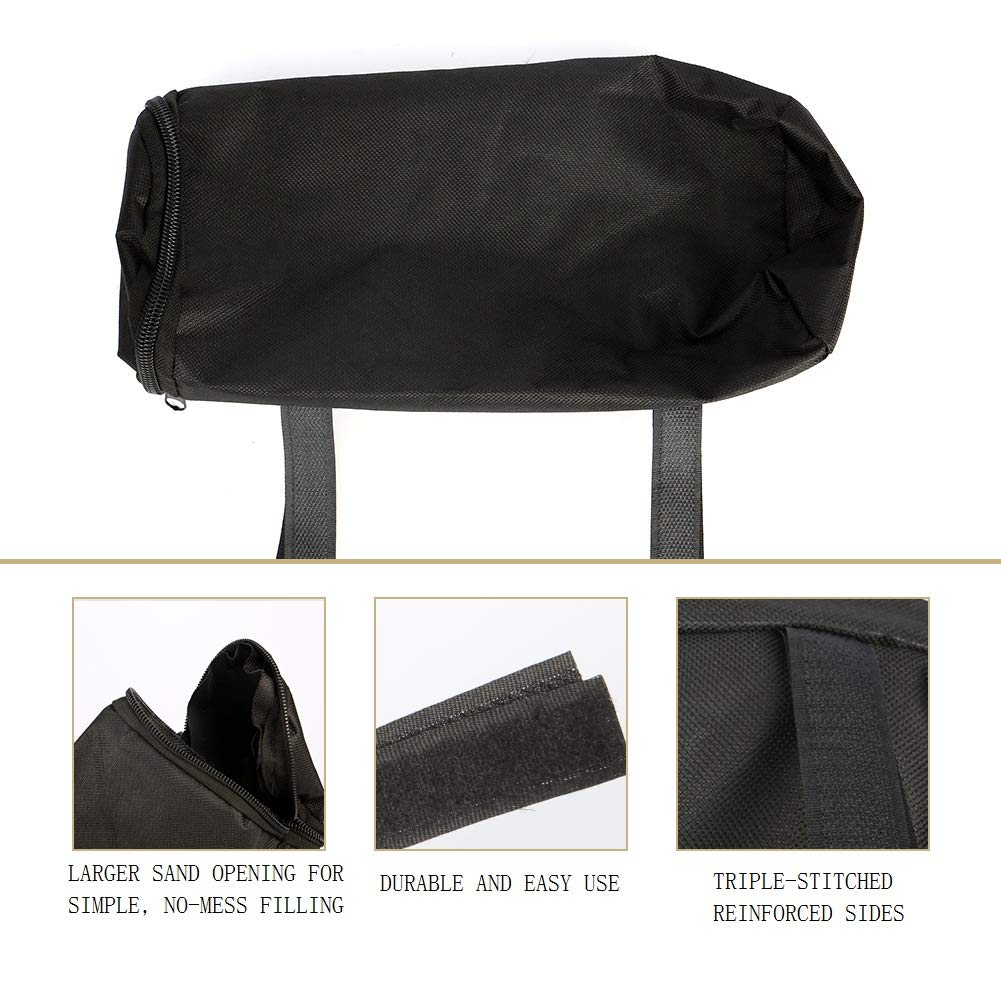 Canopy Weights Sand Bags Leg Weights for Pop up Canopy Tent Sand Bags for Instant Outdoor Sun Shelter Canopy Legs 4PCS Cara Weight Bags