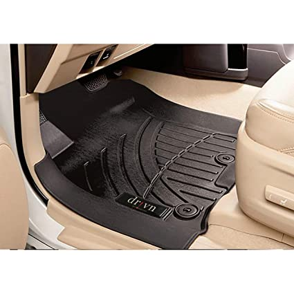 Drivn 5d Tpv Car Foot Mat For Ford Ecosport Black 5d Car Floor Mat Customised Car Floor Mat For Ford Ecosport Set Of 3 Amazon In Car Motorbike