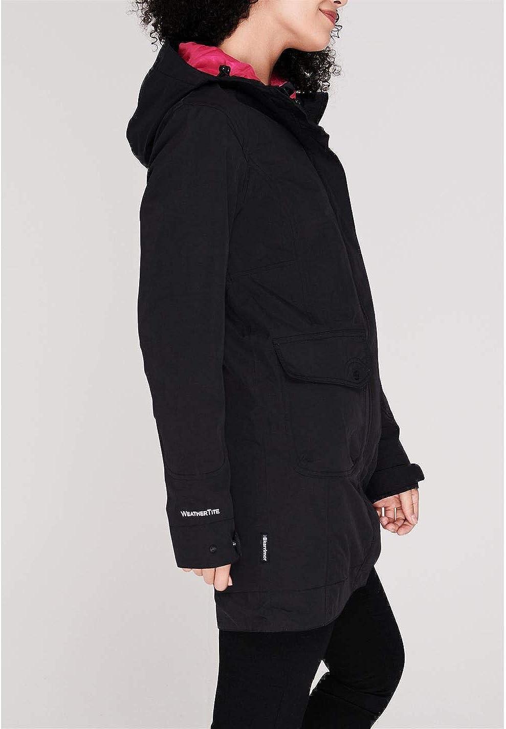 Karrimor Womens Tahoe Jacket Waterproof Coat Top Hooded Zip