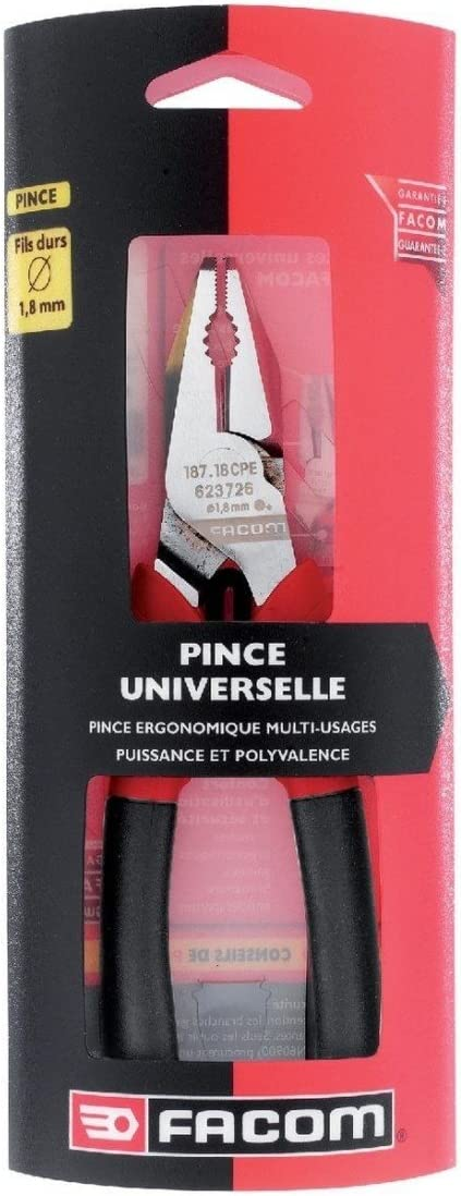 Facom SC.187.16CPE - Alicates universales color Negro