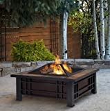 Patio Furniture-Premium® Wood Burning Fire Pit-Patio Fire Pit-Ideal Centerpiece For Keeping Family And Friends Warm And Entertained Outdoors -100% Thrilled Customer Guarantee!