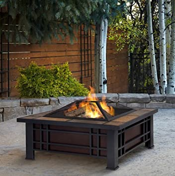 Patio Furniture Premium® Wood Burning Fire Pit Patio Fire Pit Ideal  Centerpiece