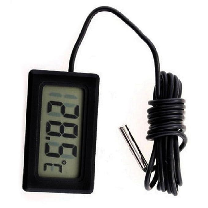 SODIAL(R) Termometro digital de nevera congelador refrigerador temperatura -50 ~ 110 grados Celsius: Amazon.es: Hogar