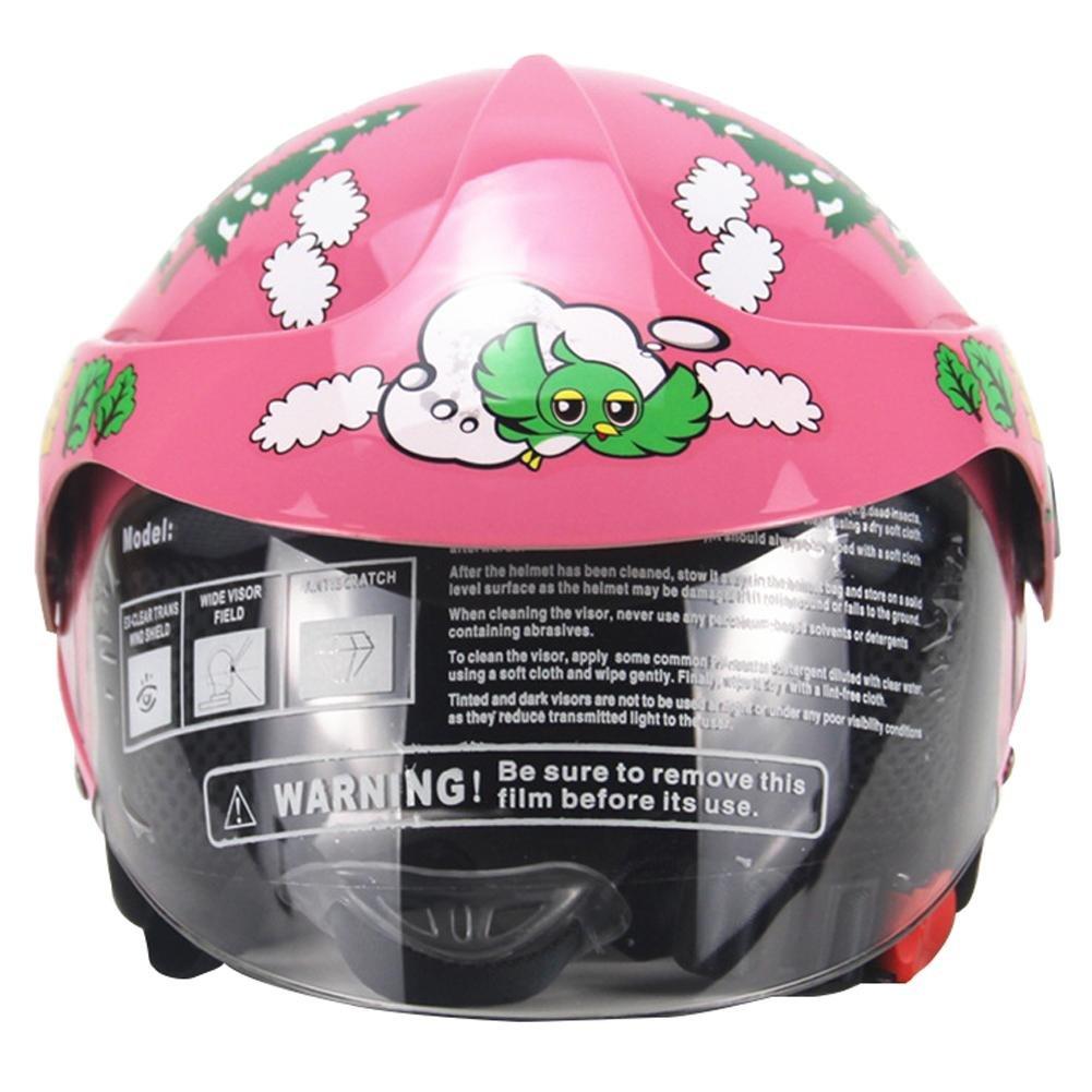 Miju Casque de Moto pour Enfants de la personnalit/é Quatre Saisons Harley Batterie Voiture de s/écurit/é pour Hommes et Femmes Elegant