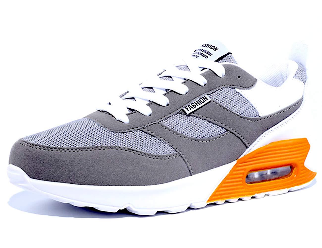 GJRRX Zapatillas Deporte Hombre Zapatos para Correr Athletic Cordones Air Cushion Running Sports Sneakers Zapatos Antideslizantes Ligeros 2211