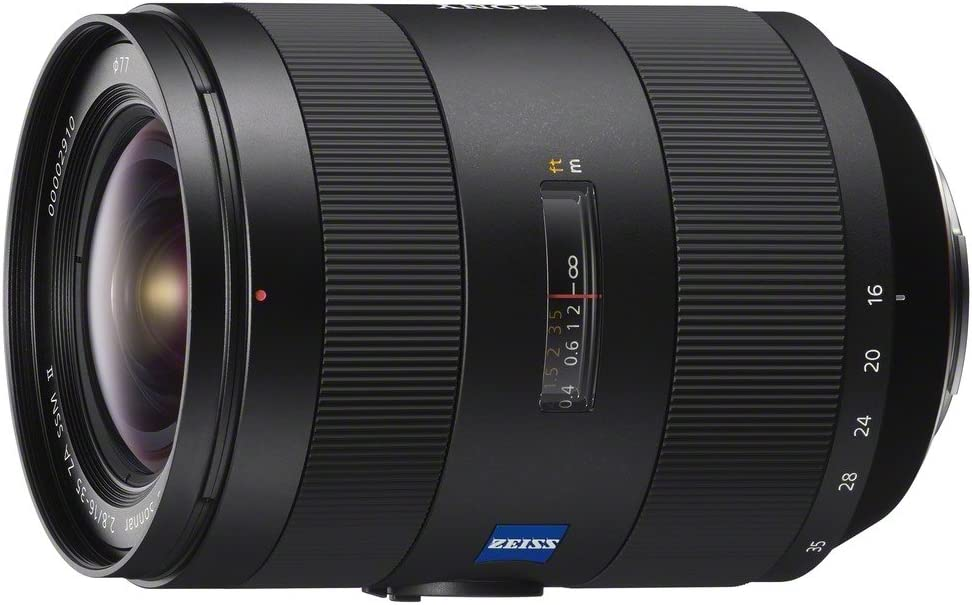 Sony 16-35mm F/2.8-22 for Sony/Minolta Alpha Cameras Wide-Angle Lens Fixed Zoom SAL1635Z2