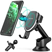 CHOETECH 7.5W Fast Wireless Car Charger Mount Compatible with Apple iPhone 12/12 Pro/12 Pro Max/SE/11/XR/XS/XS Max/X/8…