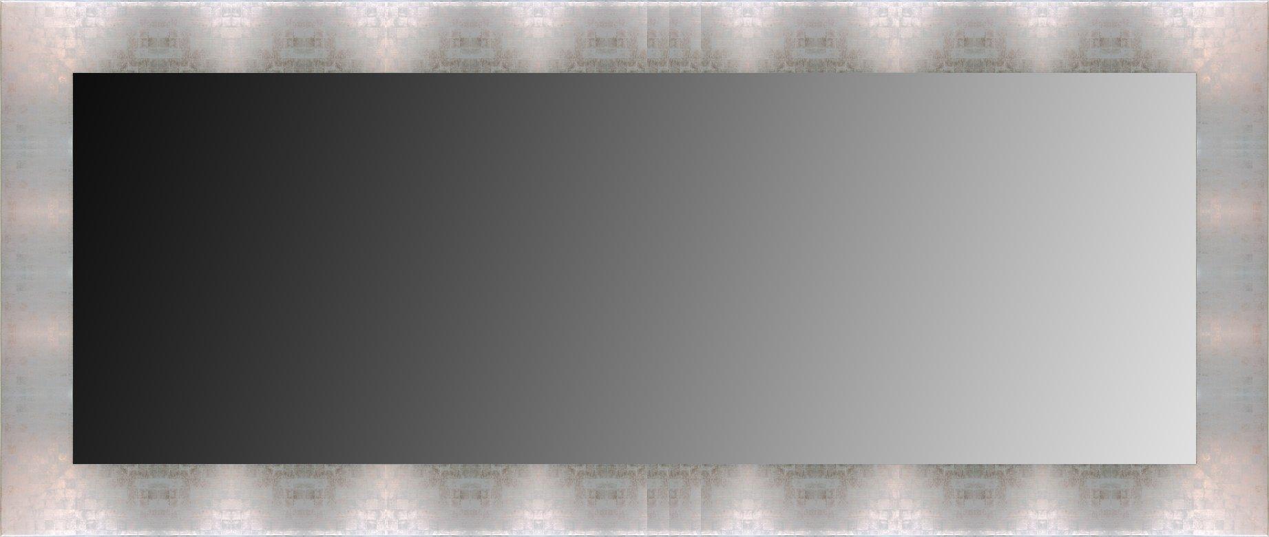 Canvases Levante da0013–7Mirror Decorative Bath/Receiver, 116x 76cm–Silver