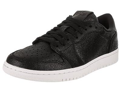 764240323f1 Jordan Nike Women's Air 1 Retro Low NS Black/Metallic Gold White Basketball  Shoe 5