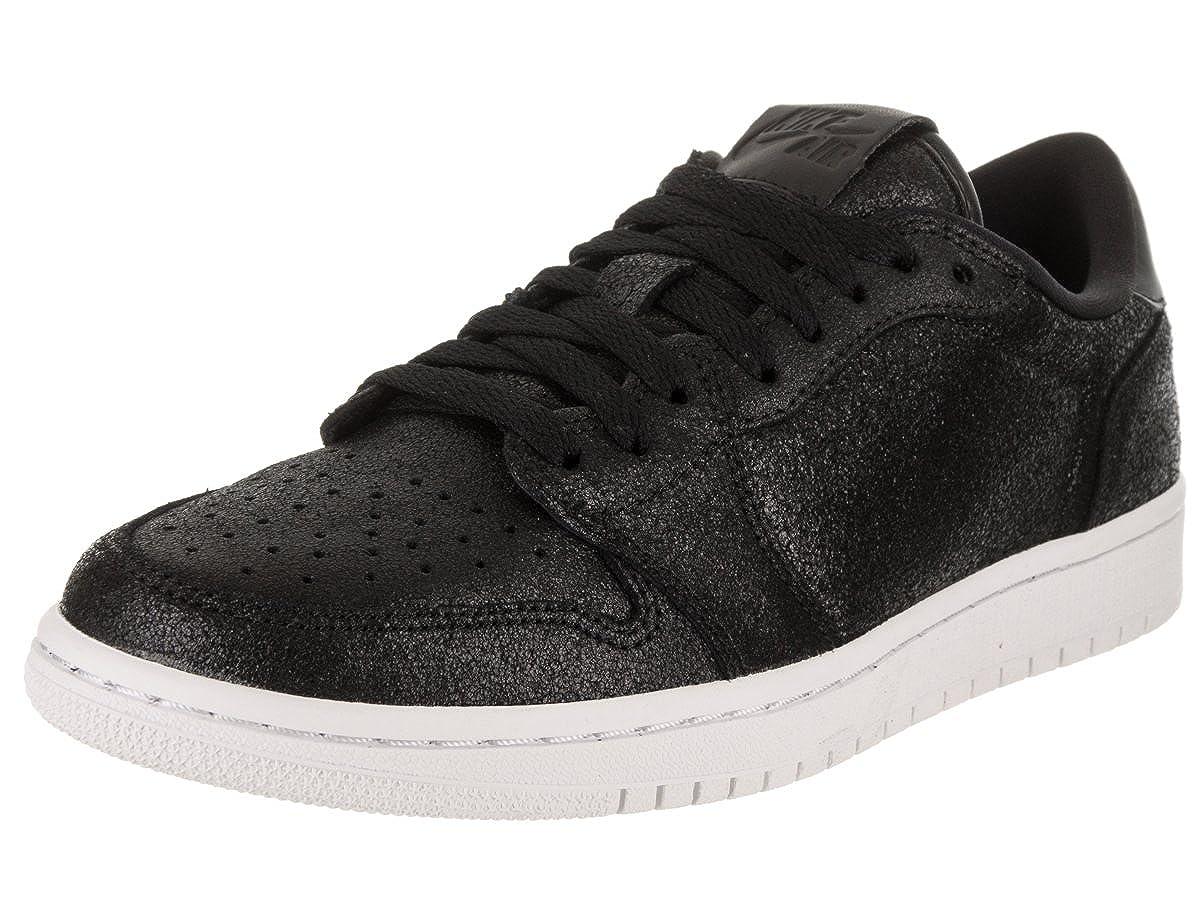 [ジョーダン] Nike レディース Air 1 レトロ ロー NS バスケットボールシューズ 黒/Metallic ゴールド 白い 9 M US