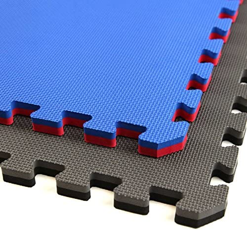 IncStores - Jumbo Soft Interlocking Foam Tiles - Perfect for Martial Arts, MMA, Lightweight Home Gyms, p90x, Gymnastics, Cardio, and Exercise