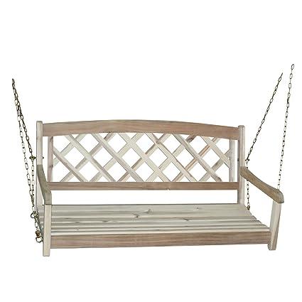 نتيجة بحث الصور عن International Concepts X-Back Porch Swing