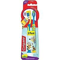 Colgate Cepillo Dental Smiles Minions Infantil 6+ Años, 2 Piezas