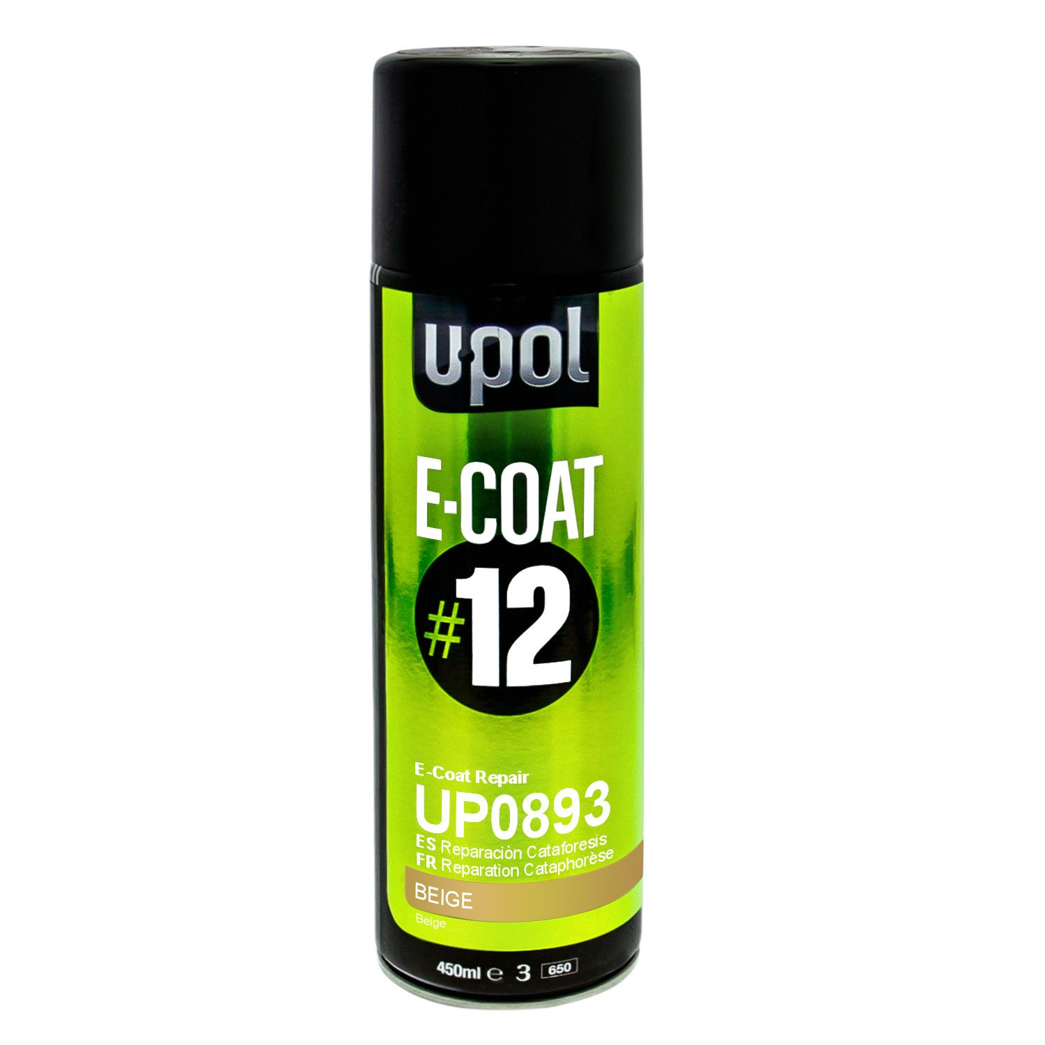 U-POL E-Coat Repair Aerosol (OLIVE GREEN)