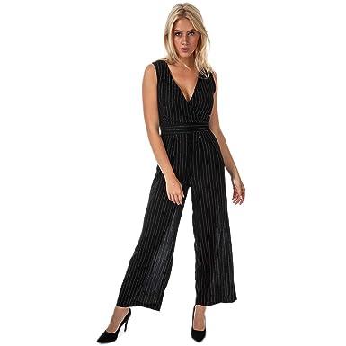 f956887b495 Yumi Lurex Pinstripe Jumpsuit  Amazon.co.uk  Clothing