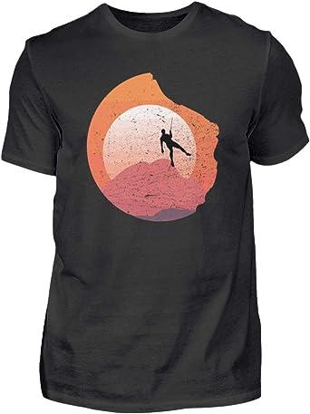 Camiseta para hombre para escalada, montañismo, montañismo ...