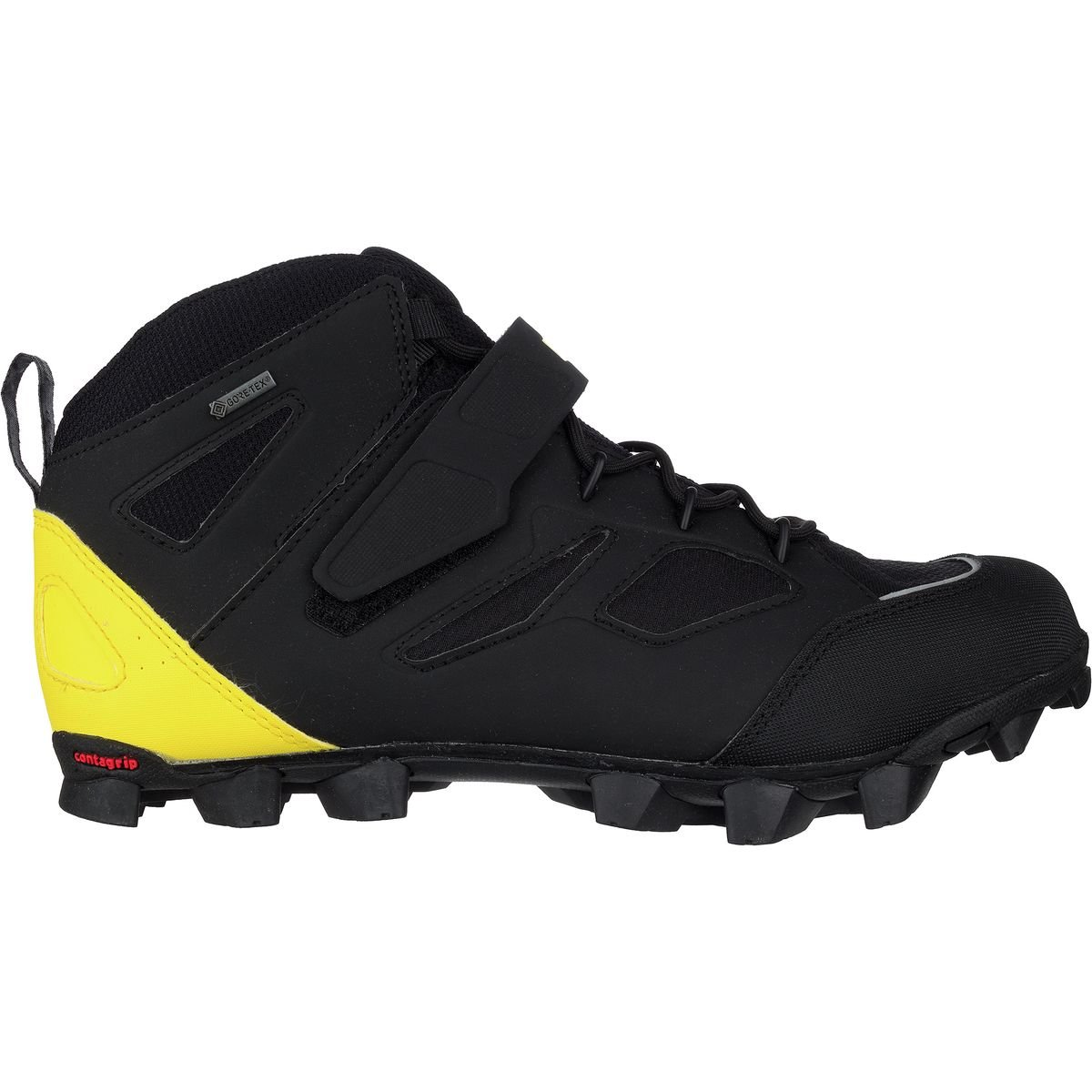 Mavic XA Pro h2o GTX Shoe – Men 's Black/Yellow Mavic/ブラック、US 13.0 / UK 12.5   B072J5K6GT