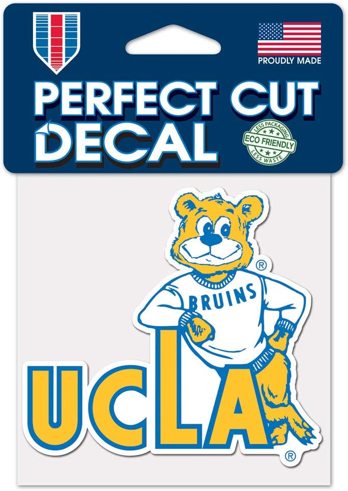 "Wincraft UCLA Bruins Throwback Perfect Cut Decal - 4""x4"" Decal"