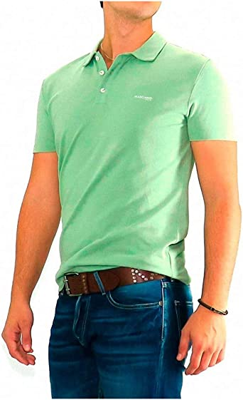 Guess by Marciano - Polo Verde Tropic - Verde, XXXL: Amazon.es ...