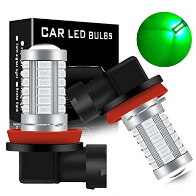 KaiDengZhe Super Bright Green H11/H8 Fog Light Bulbs DRL 5730 33-SMD 12V Daytime Running Lights Fog Lamp Driving DRL LED Lights Bulbs Replacement for Cars,Truckss: Automotive