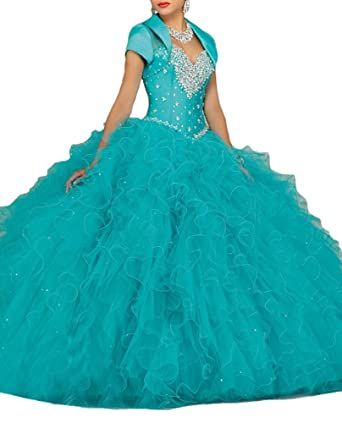 6a5e79fb58 sunday womens sweetheart sweet 16 ball gowns christmas quinceanera dresses  at amazon womens clothing store