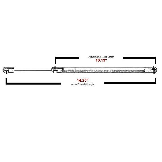 2 trasero Liftgate Tailgate Lift soporta choques puntales de gas (para Mitsubishi Eclipse 2000 A 2005 4135 sg414047: Amazon.es: Coche y moto