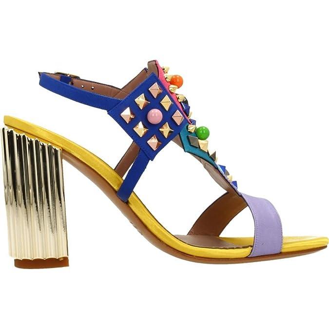 ALBANO Sandali per Le Donne, Color Blu, Marca, modelo Sandali per Le Donne 2488AL Blu