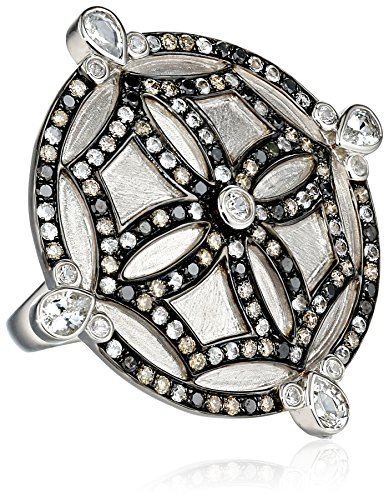 Katie Decker Mosaic Maltese Cross Ring, Size 7