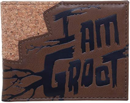 MARVEL COMICS Guardians of the Galaxy I am Groot Bi-Fold Wallet birthday