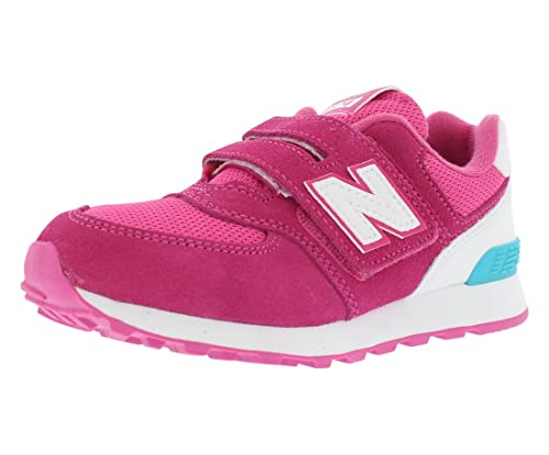 ff50be39ed91d New Balance 574 High Visibility Preschool Athletic Girl's Shoes Size ...