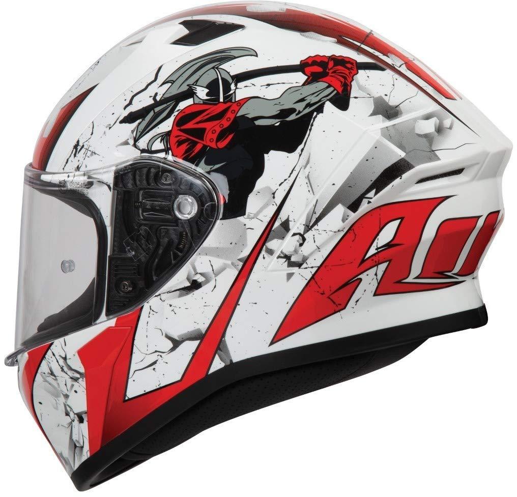 S Bianco Airoh VAS35 Valor Shell Matt S