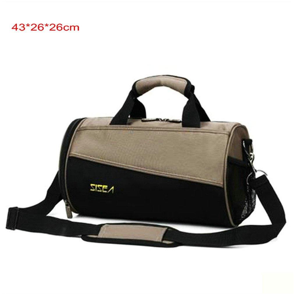 Men Gym Bag Basketball Football Training Sport Crossbody Bag Waterproof Camping Tour Fitness Bags Gray Big