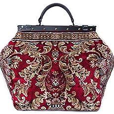 Carpet bag EXPRESS Tetragon Navy Vintage-Style Messenger sholder//cross body Carpet Bag with flap