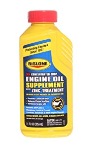 Rislone 4405 Engine Oil Supplement Concentrate with Zinc Treatment - 11 oz.