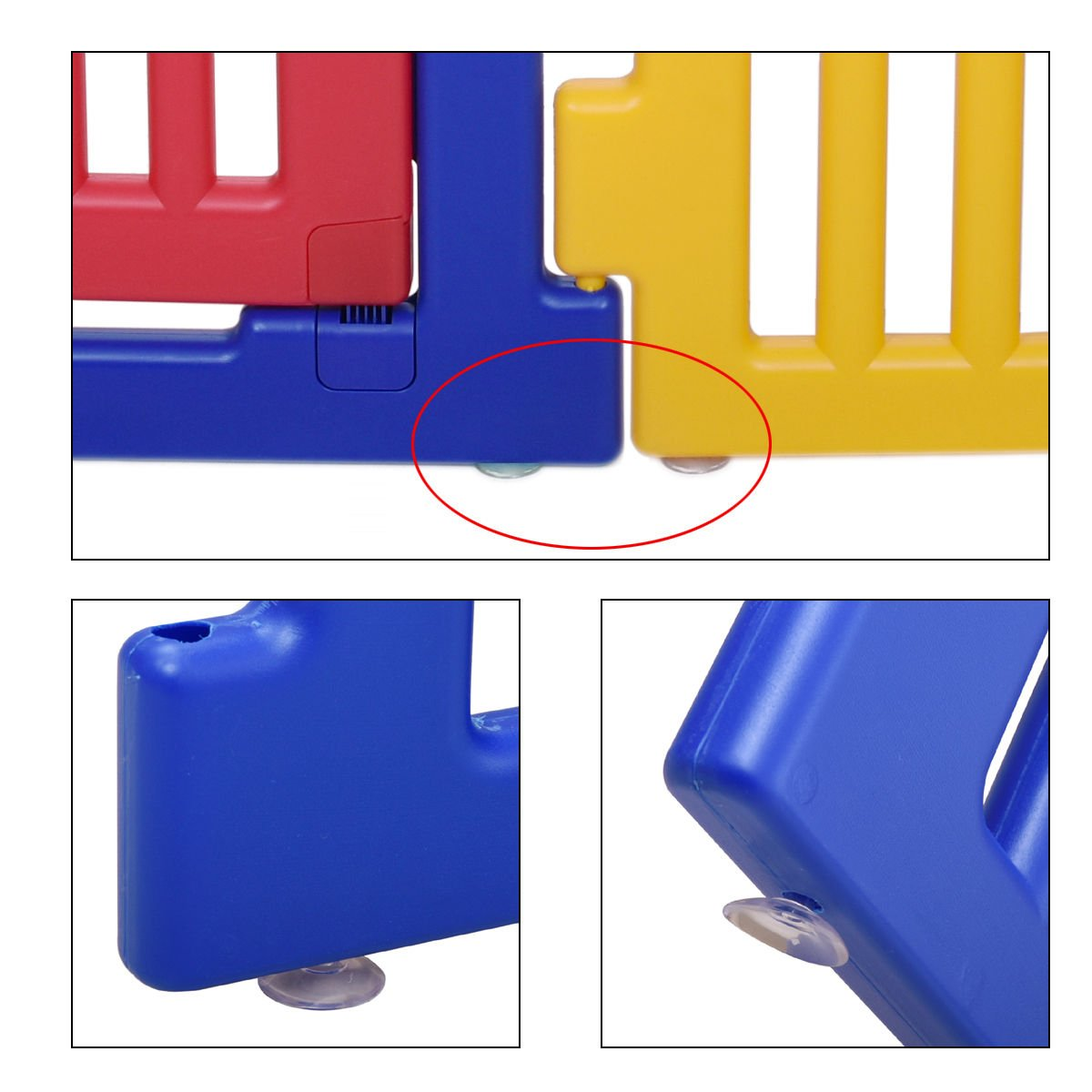 New 8 Panel Safety Play Center Baby Playpen Kids Yard Home Indoor Outdoor Pen by Eade shop (Image #8)