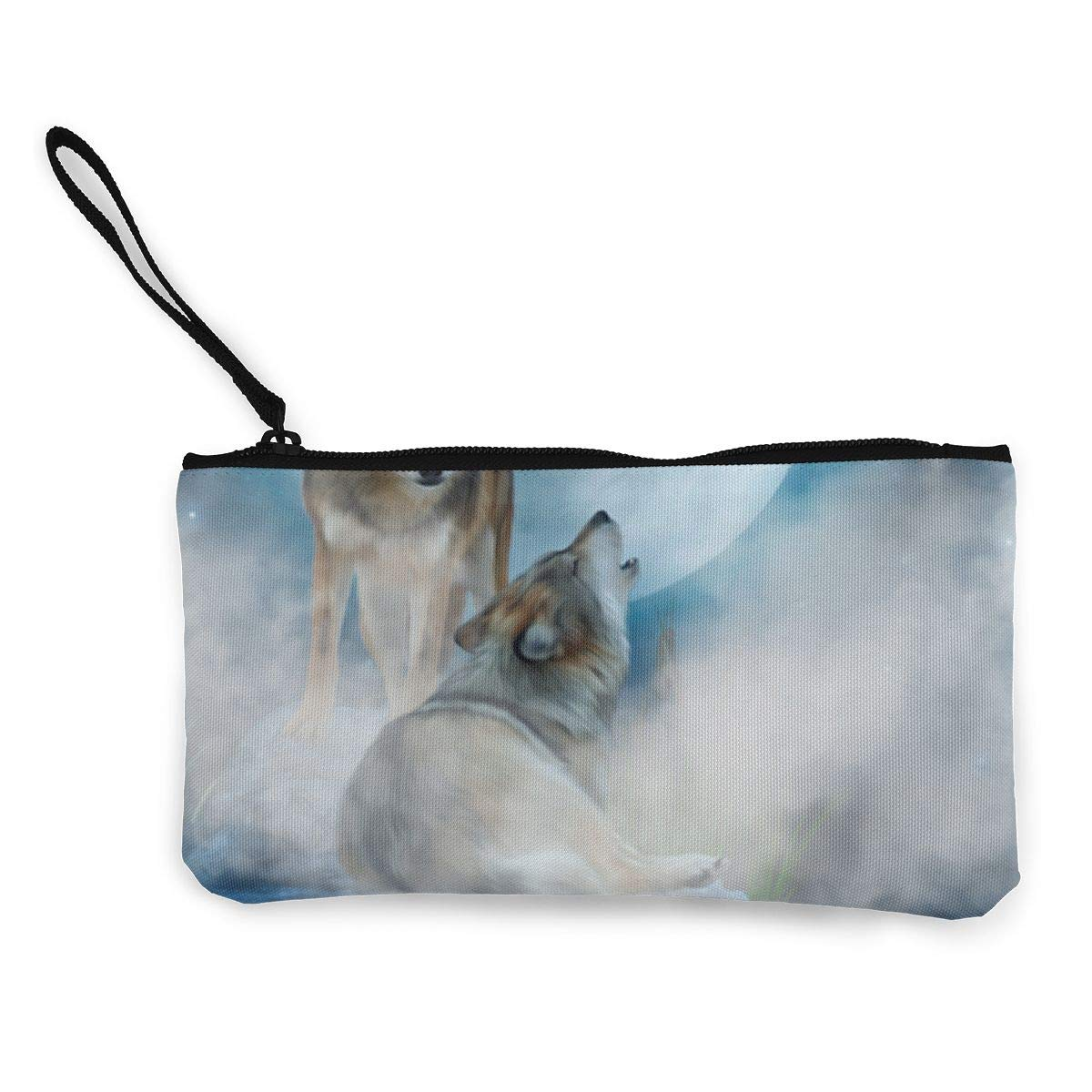 Coin Purse Cute Rabbit Happy Easter Coin Pouch With Zipper,Make Up Bag,Wallet Bag Change Pouch Key Holder
