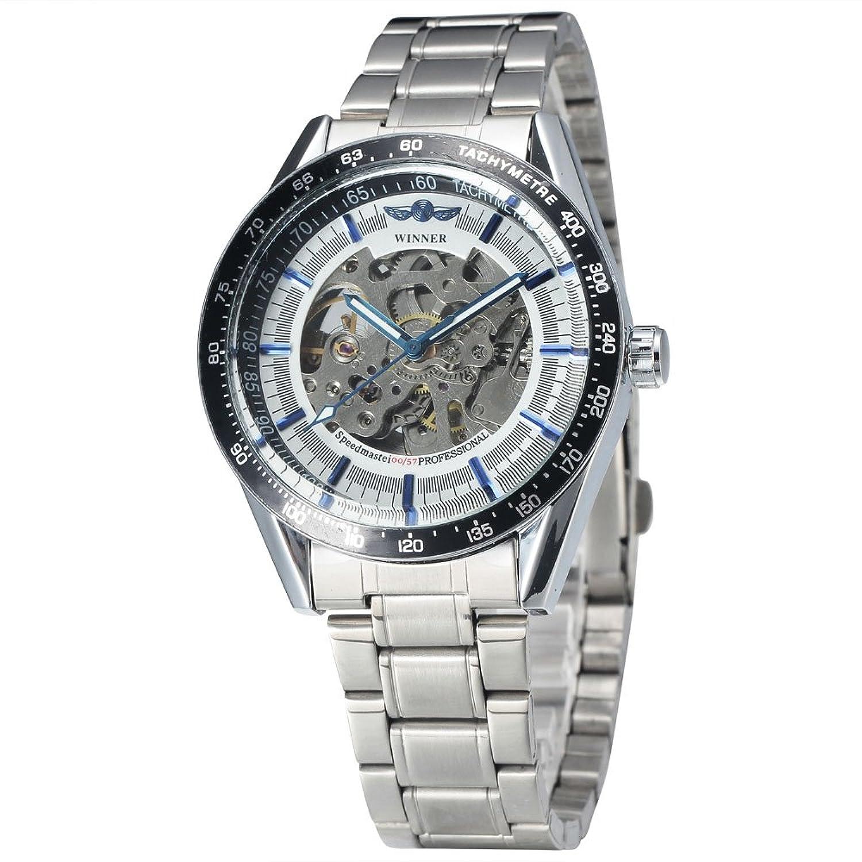 WinnerメンズファッションスタイルAuto Mechanical Daily防水手首腕時計 2# B072HSKZ662#