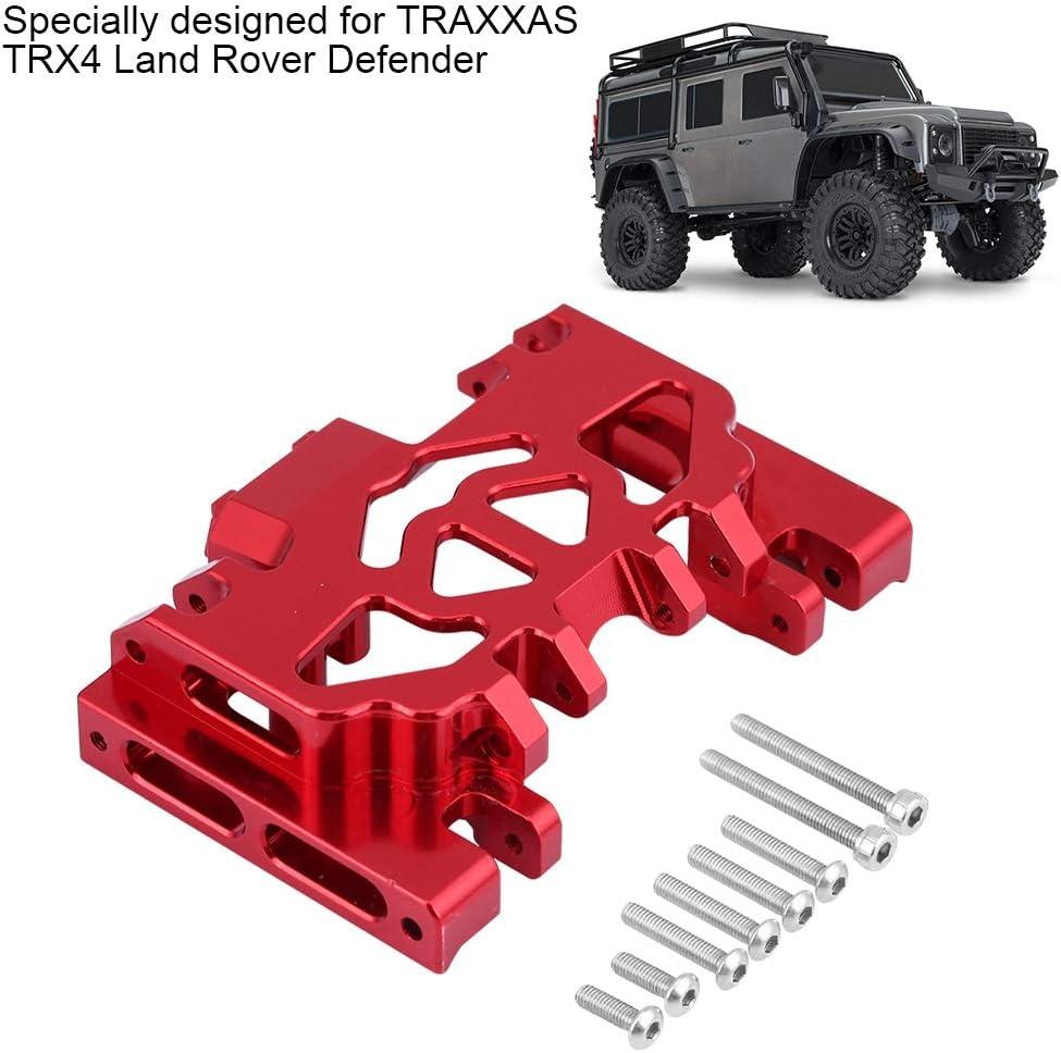 Dilwe RC Protector de Chasis, Chasis Medio de la Caja de Engranajes de la Aleacion de Aluminio Parte de Actualizacion RC para TRAXXAS TRX4 Land Rover ...