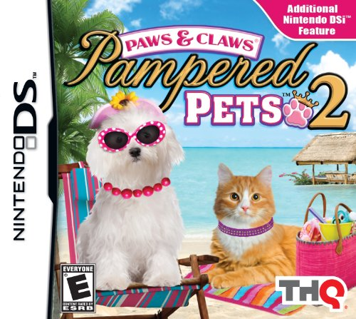Paws and Claws Pampered Pets 2 - Nintendo - Ds Nintendo Dogs For
