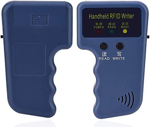 EM4100 Portable Handheld RFID ID Card Copier Reader//Writer Duplicator Yosoo 125Khz RFID Reader Writer Keyfob