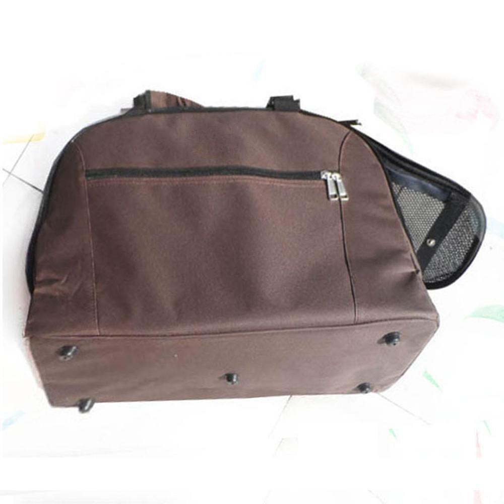 Daeou Pet Backpack Bag Cat Dog Backpack Cat Dog Portable Out Travel Bag Satchel Bus Subway Hidden Back Dog Supplies 48  25.5  22cm Nylon