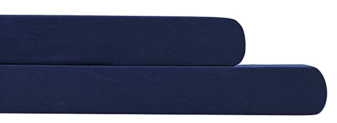 Amazon.com: AURAA Baby Fitted Crib Sheets Set, 2 Pack Crib Mattress Topper for Baby Boys Girls,Ultra Soft, Full Standard (Navy): Home & Kitchen