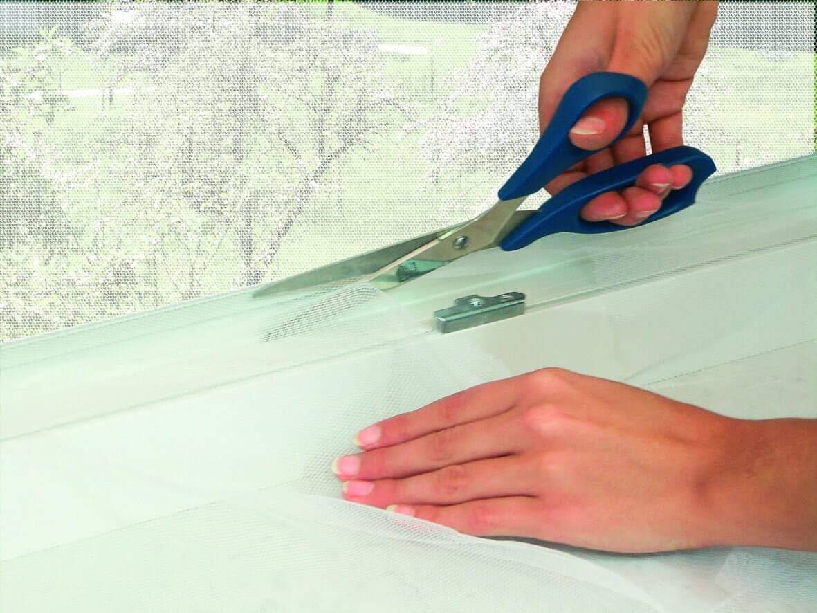 antiinsectos velcro moscas autoadhesiva mosquitera poli/éster negro cortinas antimosquitos y antimoscas ventana Mosquitera autoadherente