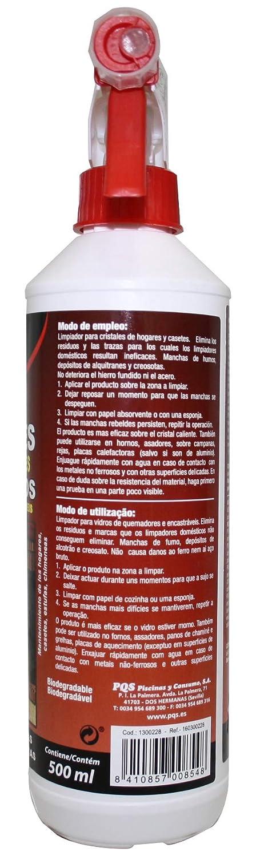 PQS 1300428 - LIMPIACRISTALES CHIMENEAS, PACK 2 X 500 ML: Amazon.es: Alimentación y bebidas