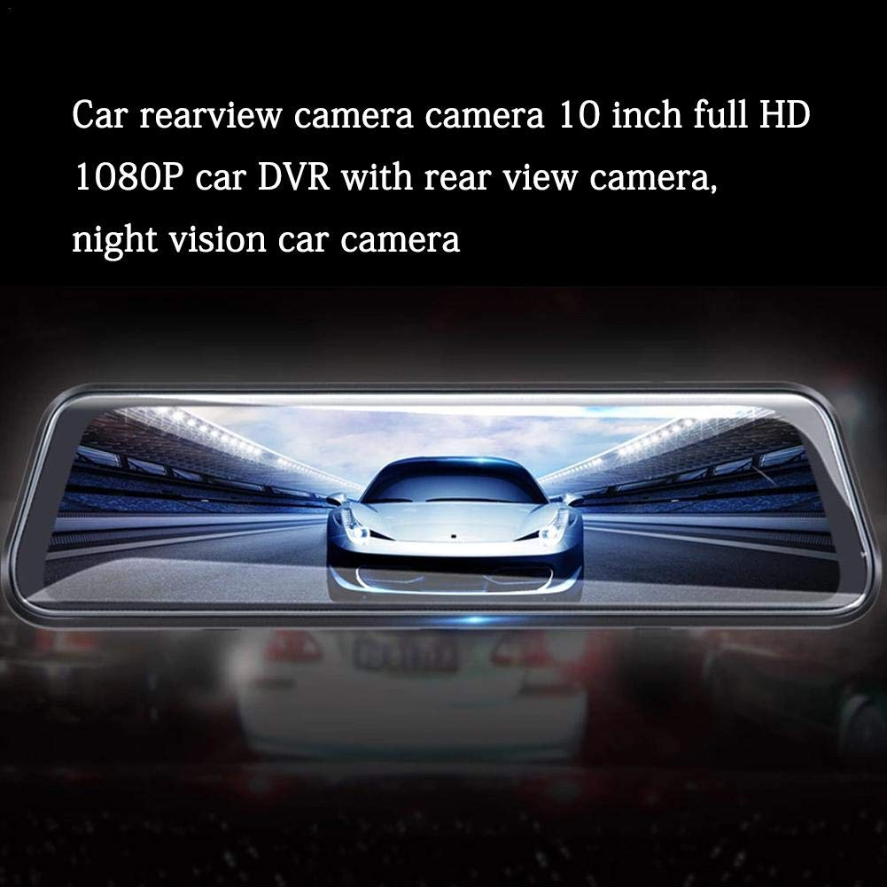 Touch Screen G-Sensor Waterproof Rear View Revers Camera 1080P Full HD Night Vision Camera Backup Camera 10 Mirror Dash Cam