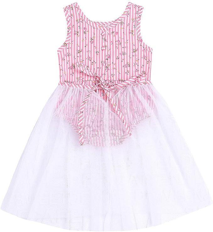 Xmiral Vestido para Bebés Regalo para Bautizo Falda Tul para ...