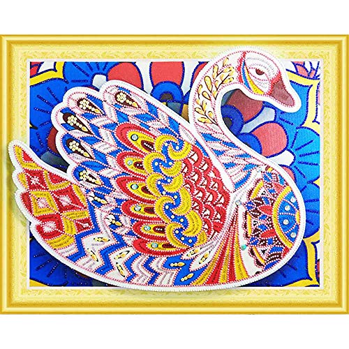 Hot Sale!UMFun Special Shaped 5D Painting Embroidery DIY Paint Full Diamond Kit Cross Craft Stitch Home Wall Decor (F)