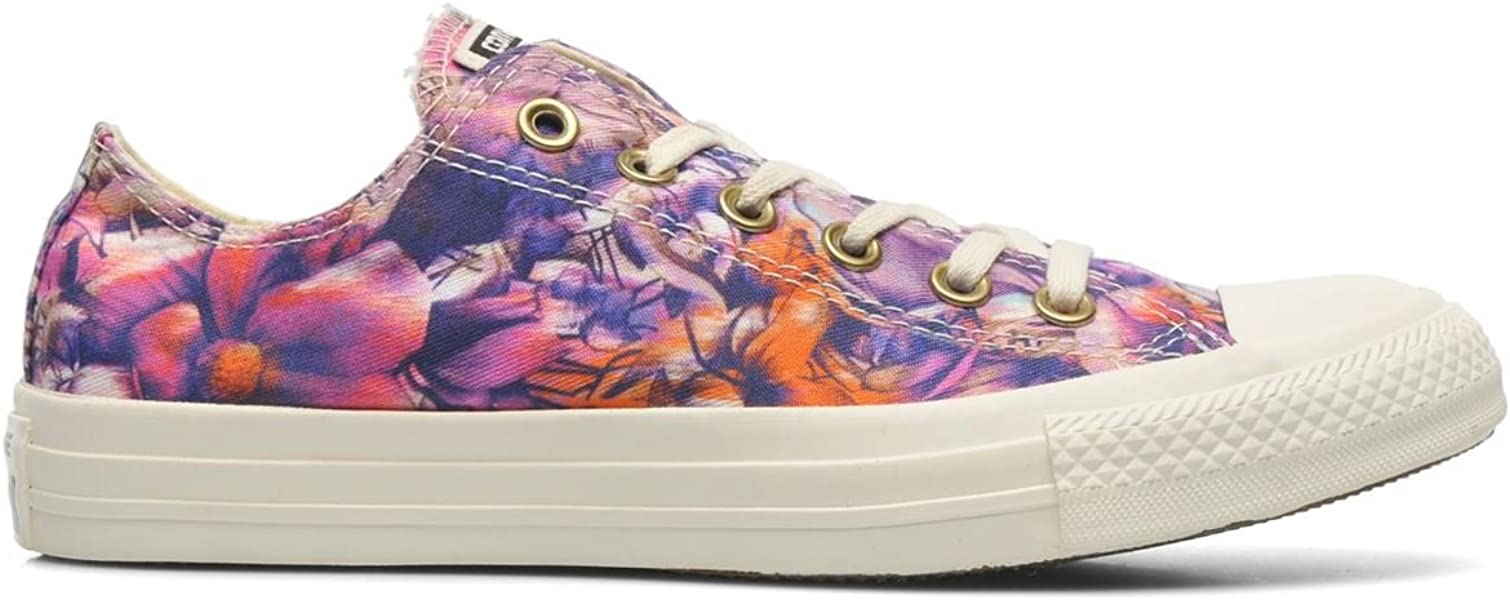 Converse Chuck Taylor All Star Floral Womens Low Top Sneakers 547280F  Periwinkle 9.5 M US cf4535630